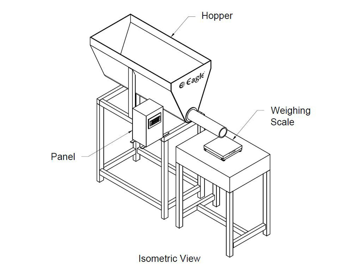 Hopper-Weighing-System